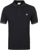 Money Diamond Jet Black Short Sleeve Polo Shirt