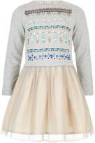 Monsoon Jade Jewel 2 in 1 Dress