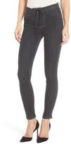 Hudson Women's Bullocks High Waist Lace-Up Skinny Jeans