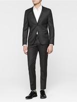 Calvin Klein Tavis Fitted Virgin Wool Suit