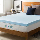 Asstd National Brand Lucid 3 Inch Gel Memory Foam Mattress Topper