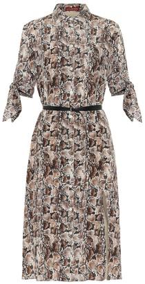Altuzarra Narcissa printed silk midi dress