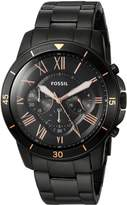 Fossil Men's 'Grant Sport' Quartz Stainless Steel Casual Watch, Color: (Model: FS5374)