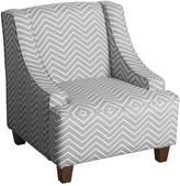HomePop Kids Chevron Accent Chair