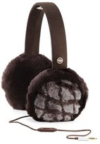 UGG Croft Quilted Wired Earmuffs, Chocolate