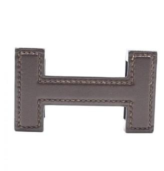 Hermes Boucle seule / Belt buckle Brown Leather Belts