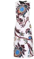 Mary Katrantzou Emma Urdu paisley-print faille dress