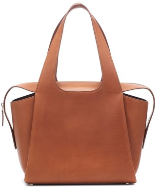 The Row TR1 Large leather tote