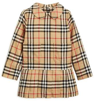 Burberry Girls' Melanie Vintage Check Dress - Little Kid, Big Kid