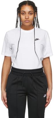 Nike White NSW Club T-Shirt