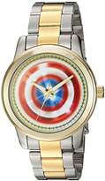 Marvel Men's 'Captain America' Quartz Metal and Alloy Casual Watch