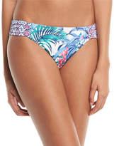 Tommy Bahama Marjorelle Side-Shirred Hipster Swim Bikini Bottoms