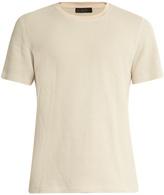 Calvin Klein Collection Perter cotton-blend knit T-shirt