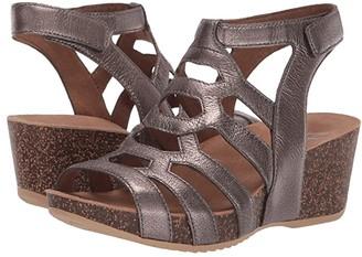 Dansko Selina (Pewter Nappa) Women's Sandals
