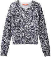 Joe Fresh Kid Girls' Leopard Cardi, Cream (Size S)