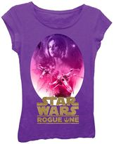 Girls 7-16 Star Wars Rogue One Jyn Erso Glitter Graphic Tee