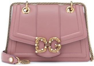 Dolce & Gabbana Amore leather shoulder bag