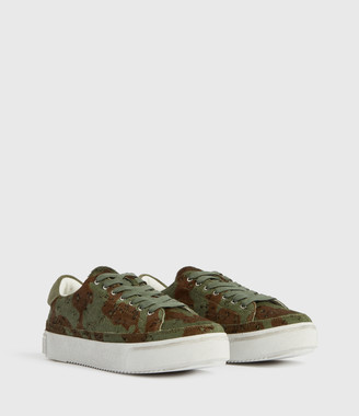 AllSaints Trish Leather Sneakers