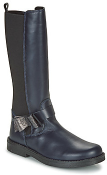 Citrouille et Compagnie LAIME girls's High Boots in Blue