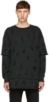 Diesel Black S-Cote Swearshirt