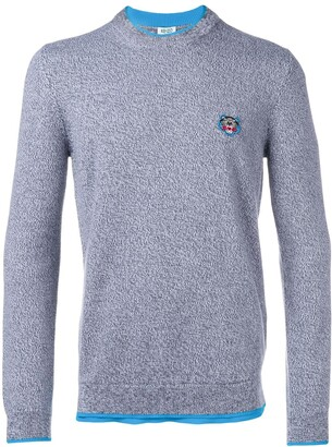 Kenzo Tiger patch jumper