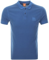 BOSS ORANGE Pascha Polo T Shirt Blue