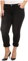 KUT from the Kloth Plus Size Catherine Boyfriend in Black