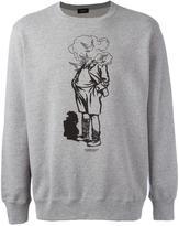 Undercover man crew neck sweatshirt