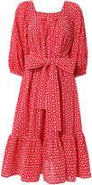 Lisa Marie Fernandez Laure Daisey Eyelet Midi Dress