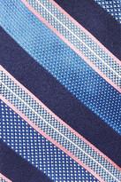 John W. Nordstrom Striped Woven Silk Tie