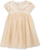 First Impressions Baby Girls' Brocade & Tulle Dress, Only at Macy's