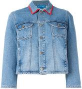 MiH Jeans Arch customised denim jacket by Alex Carl