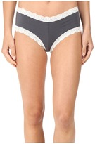 Hanky Panky Organic Cotton Boyshort w/ Lace