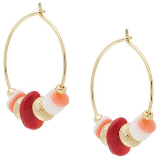 Anni Lu Sweet Little Things hoop earrings