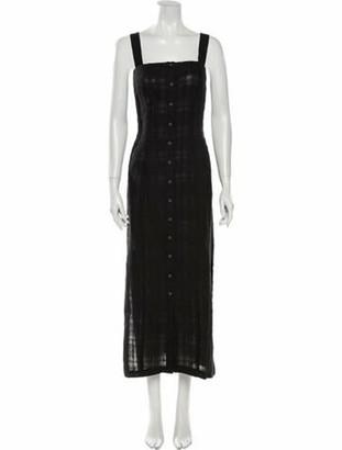 Mara Hoffman Serena Long Dress w/ Tags Black