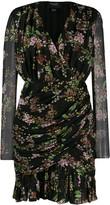 Giambattista Valli floral wrap dress