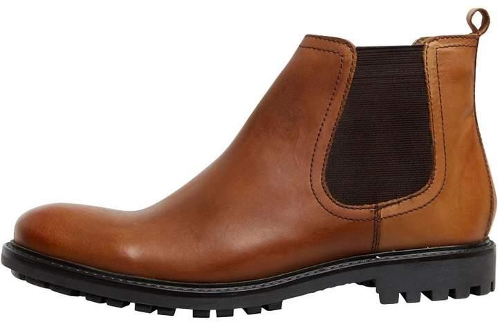Base London Mens Course Boots Waxy Tan