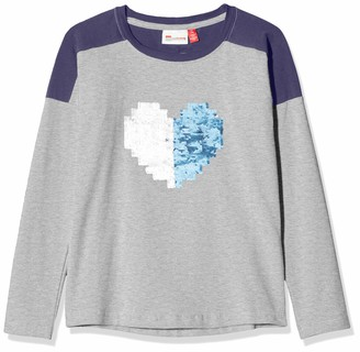 Lego Wear Girl's Lwtone Wendepailletten Long Sleeve Top