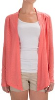 Columbia See Through You Burnout Cardigan Wrap - Long Sleeve (For Women)