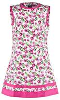 Oscar de la Renta Pink Pansy A-line Dress