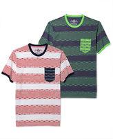 American Rag Shirt, Multistripe Short Sleeve Shirt