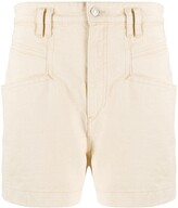 Isabel Marant high waist denim shorts