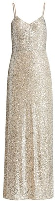 Ramy Brook Ava Sequin Column Gown
