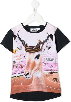 Molo Risha Your Own Pace print T-shirt