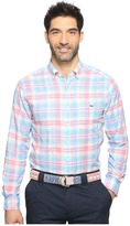 Vineyard Vines Kings Point Plaid Slim Tucker Shirt
