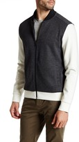 Kenneth Cole New York Mix Media Zip Bomber