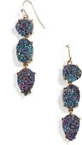 BaubleBar Women's Mieko Drusy Drop Earrings