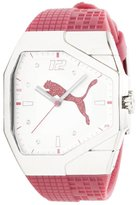 Puma Women's PU910572007 Track Pink and Dial Watch