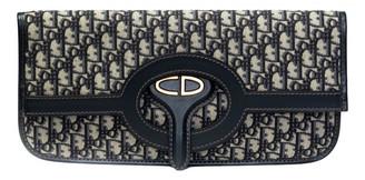 Christian Dior Navy Cloth Clutch bags