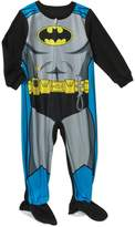 Dc Comics Batman Little Boys Toddler Footed Blanket Sleeper Pajama (t)